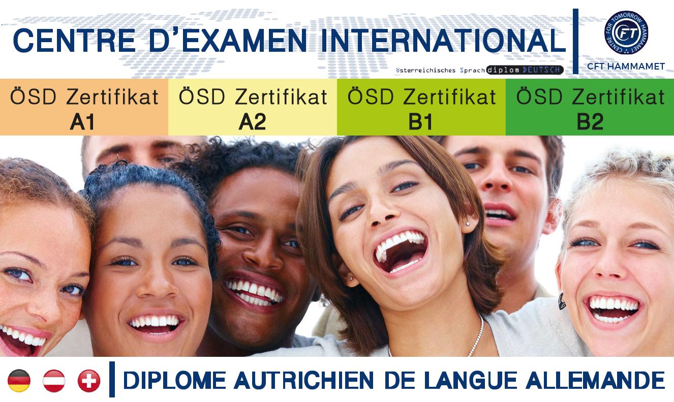 (ÖSD) Diplôme autrichien de langue allemande