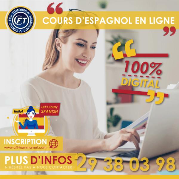 Cours d'espagnol général en ligne