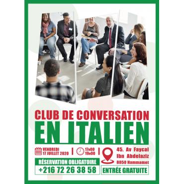 CLUB DE CONVERSATION EN ITALIEN