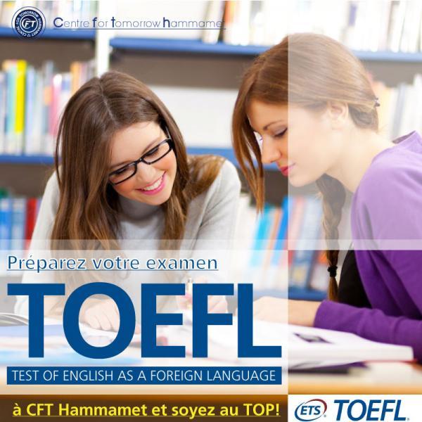 Cours de préparation au test TOEFL