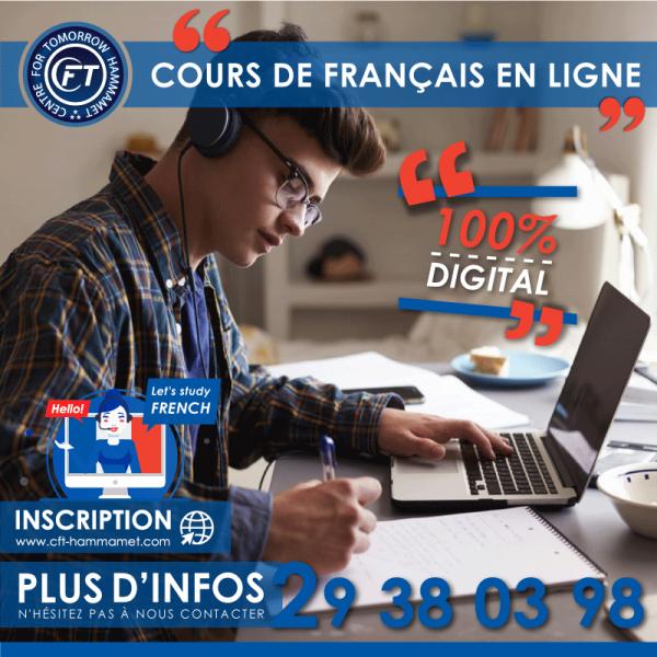 Cours de français général en ligne